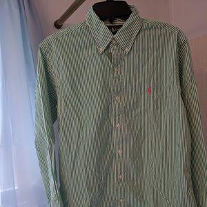 Ralph Lauren custom fit casual button doan